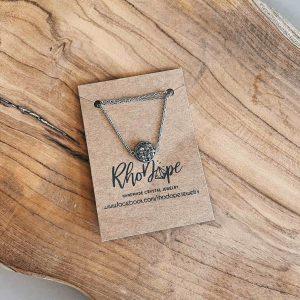 necklace pyrite